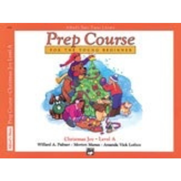 Alfred Music Alfred's Basic Piano Prep Course: Christmas Joy! Book A