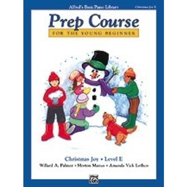 Alfred Music Alfred's Basic Piano Prep Course: Christmas Joy! Book E