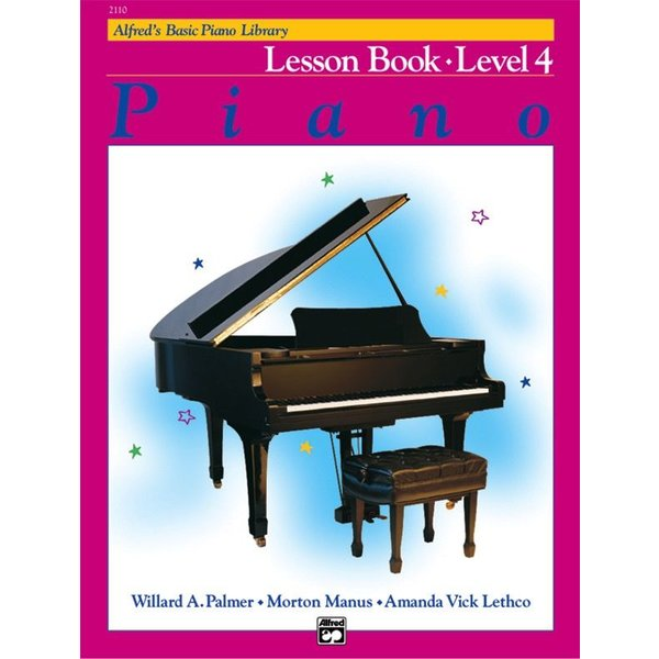 Alfred Music Alfred's Basic Piano Course: Lesson Book 4