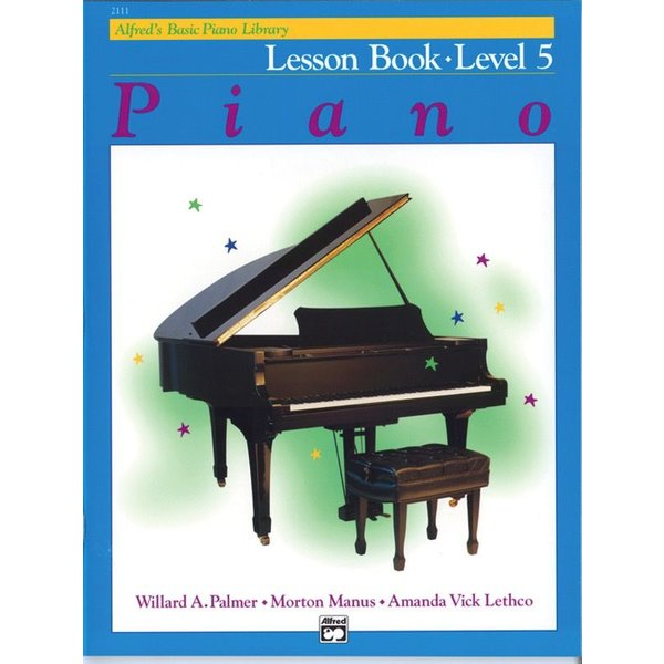 Alfred Music Alfred's Basic Piano Course: Lesson Book 5