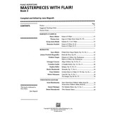 Alfred Music Masterpieces with Flair!, Book 3