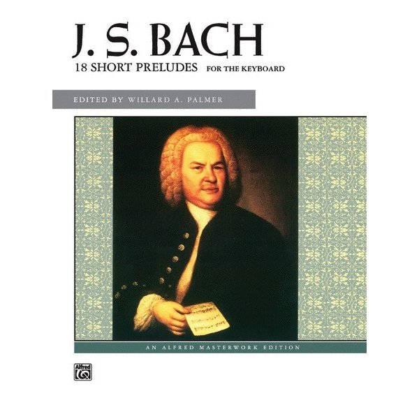 Alfred Music J.S. Bach - 18 Short Preludes