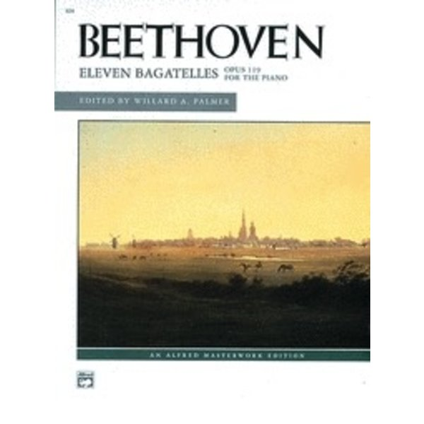 Alfred Music Eleven Bagatelles, Opus 119 for the Piano
