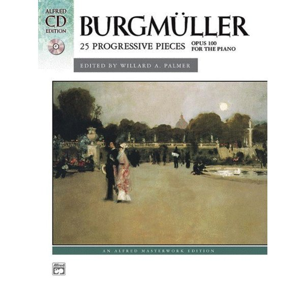 Alfred Music Burgmüller - 25 Progressive Pieces, Opus 100