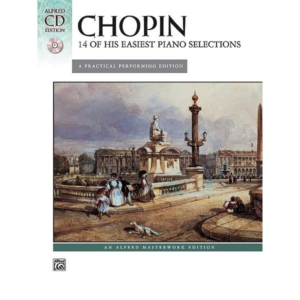 Alfred Music Chopin - 14 of His Easiest Piano Selections