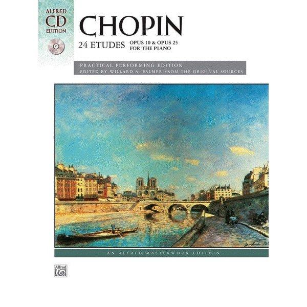 Alfred Music Chopin - 24 Etudes, Opus 10 & Opus 25