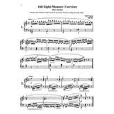 Alfred Music Czerny - 160 8-Measure Exercises, Opus 821