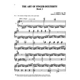 Alfred Music Czerny - The Art of Finger Dexterity, Opus 740 (Complete)
