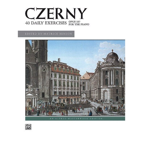 Alfred Music Czerny - 40 Exercises, Opus 337