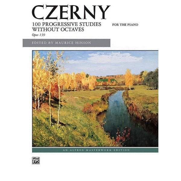 Alfred Music Czerny - 100 Progressive Studies without Octaves, Opus 139