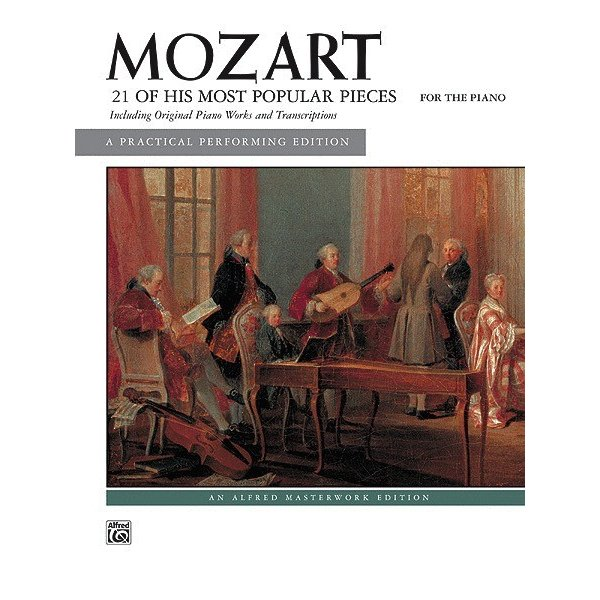 Alfred Music 21 of His Most Popular Pieces