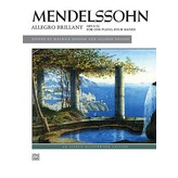 Alfred Music Mendelssohn - Allegro brillant