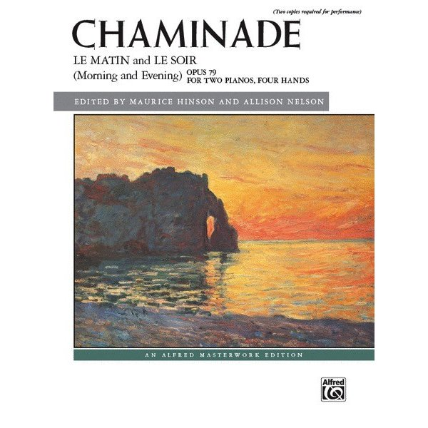 Alfred Music Le matin and Le soir (Morning and Evening), Opus 79