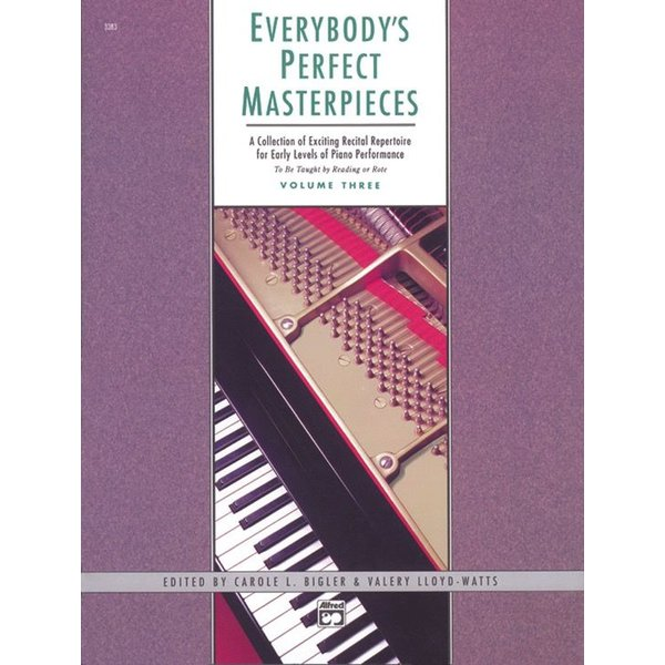 Alfred Music Everybody's Perfect Masterpieces, Volume 3
