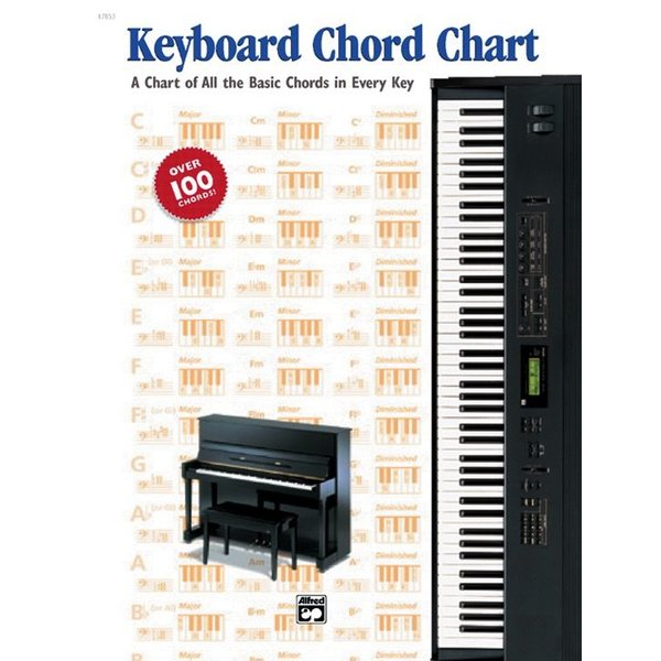 Alfred Music Keyboard Chord Chart
