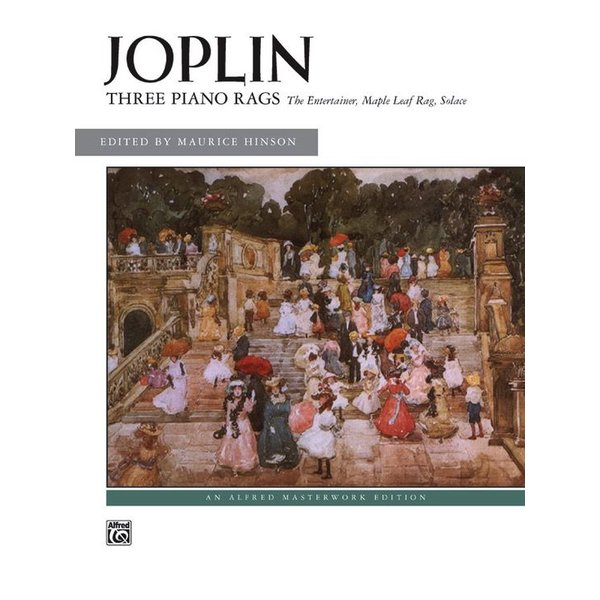 Alfred Music Joplin - Three Piano Rags
