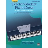 Alfred Music Easy Teacher-Student Piano Duets in Three Progressive Books - Book 3