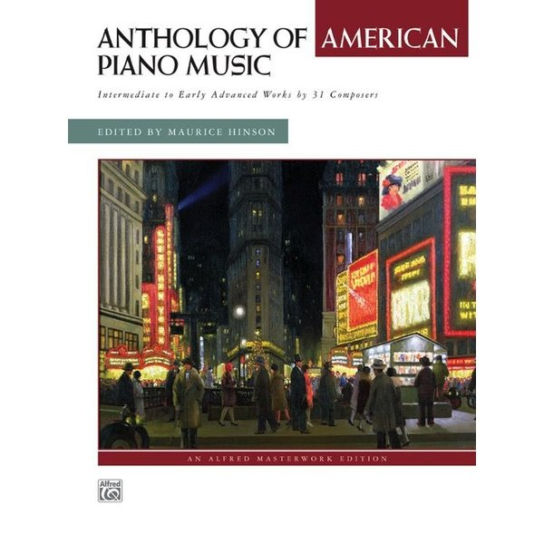 Alfred Music Anthology of American Piano Music