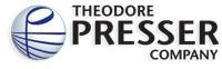 Theodore Presser