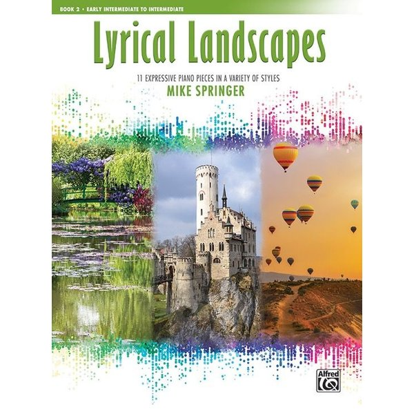 Alfred Music Lyrical Landscapes, Book 2