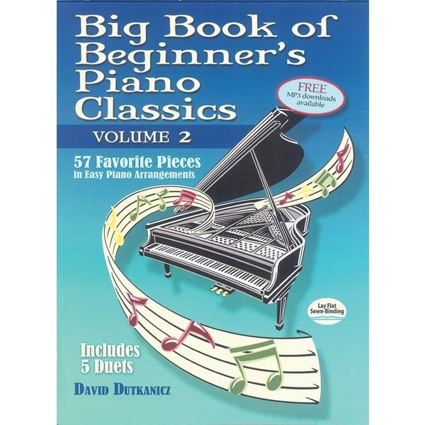 Alfred Music Big Book of Beginner's Piano Classics, Volume 2