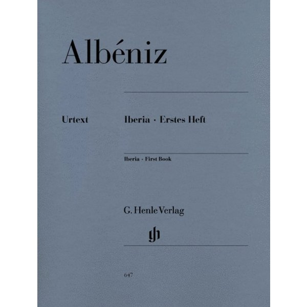 Albeniz - Iberia - First Book