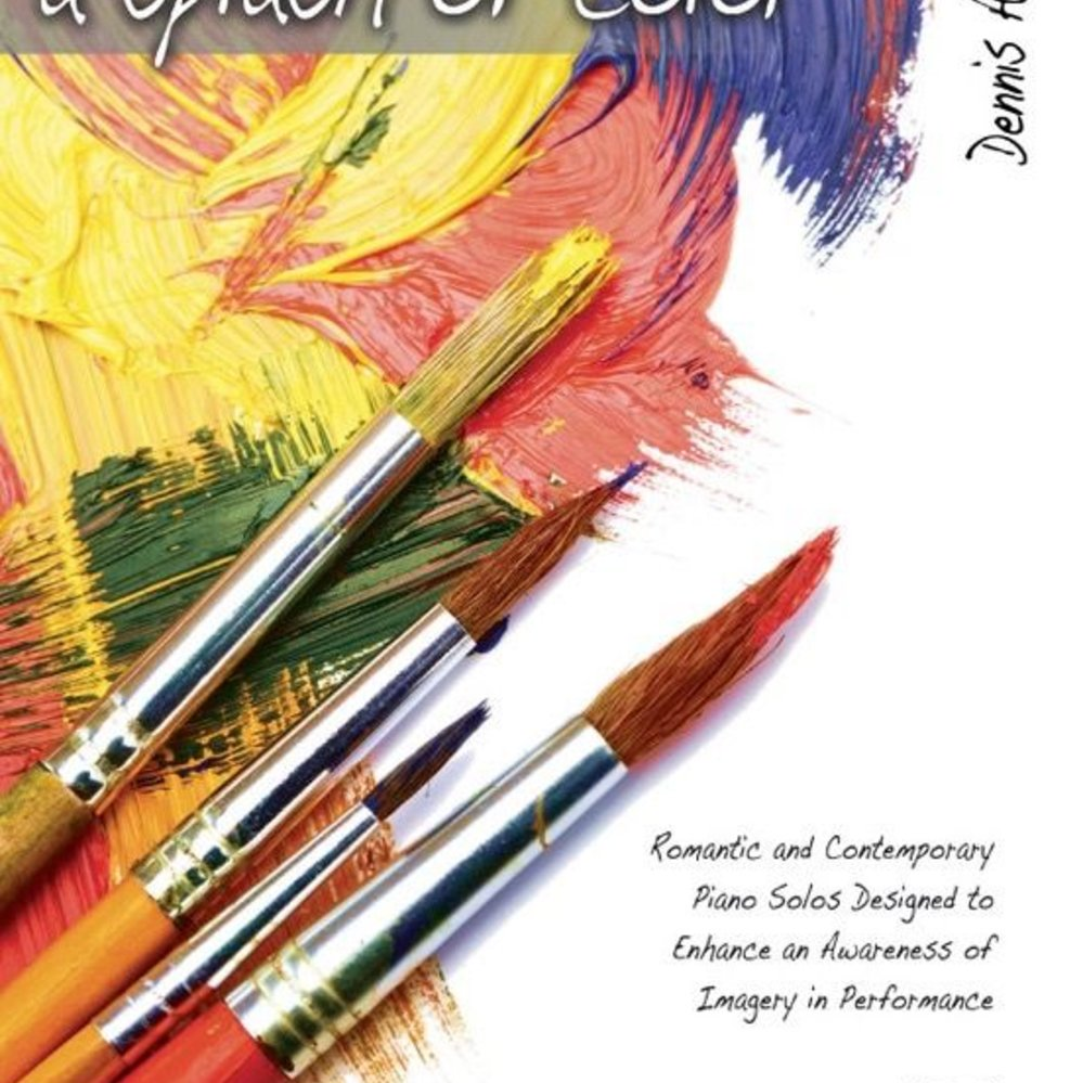 A Splash of Color, Book 1 - PianoWorks