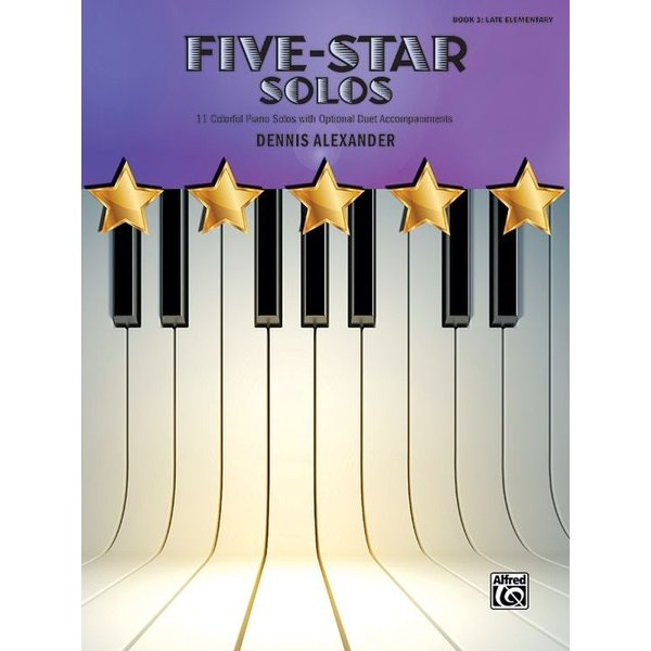 Alfred Music Five Star Solos Book 3