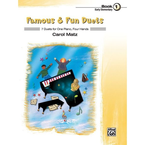 Alfred Music Famous & Fun Duets, Book 1