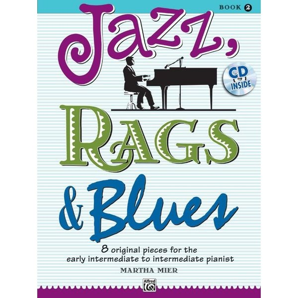 Alfred Music Jazz, Rags & Blues, Book 2 & CD