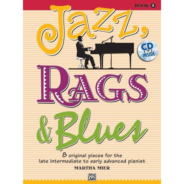 Alfred Music Jazz, Rags & Blues, Book 5