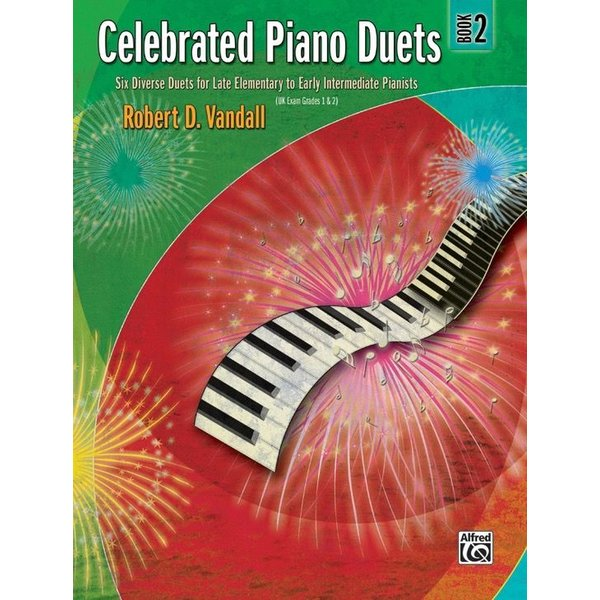 Alfred Music Celebrated Piano Duets, Book 2