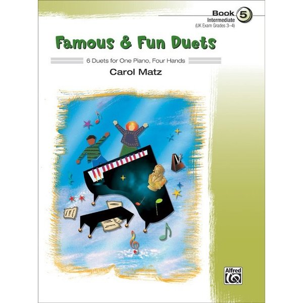 Alfred Music Famous & Fun Duets, Book 5