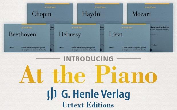 At the Piano -- Piano 16 pi/èces originales
