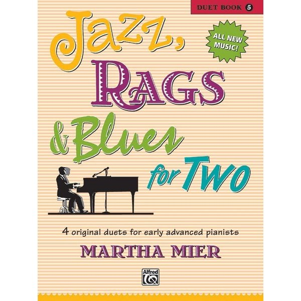 Alfred Music Jazz, Rags & Blues for Two, Book 5