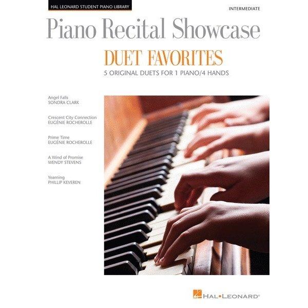 Hal Leonard Piano Recital Showcase – Duet Favorites