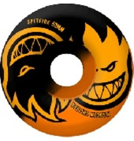 SPITFIRE SF 50/50 ETERNAL 56MM BLACK/NEON ORANGE