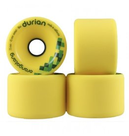 ORANGATANG ORANGATANG 75MM, 86A DURIAN YELLOW (SET OF 4)