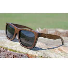 Woods THE ORIGINAL WOODS IN STAINED BAMBOO SUNGLASSES