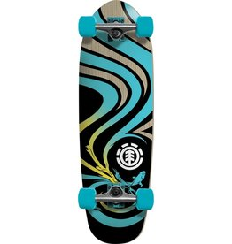 ELEMENT Skate ELEMENT T-WELL AQUA MAMBA COMPLETE 9.25X29.75