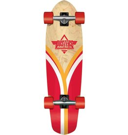 Dusters DUSTERS FLASHBACK CRUISER RED COMPLETE 28""