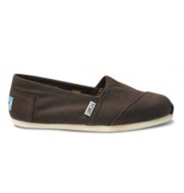 TOMS TOMS WOMEN'S CLASSIC CANVAS CHOCOLATE