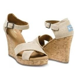 TOMS WOMENS TOMS STRAPPY WEDGE