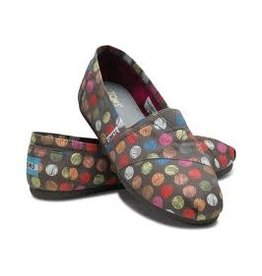 TOMS WOMEN'S TOMS HAND DRAWN DOTS VEGAN CLASSIC
