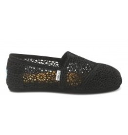 TOMS WOMENS TOMS MOROCCO CROCHET CLASSIC