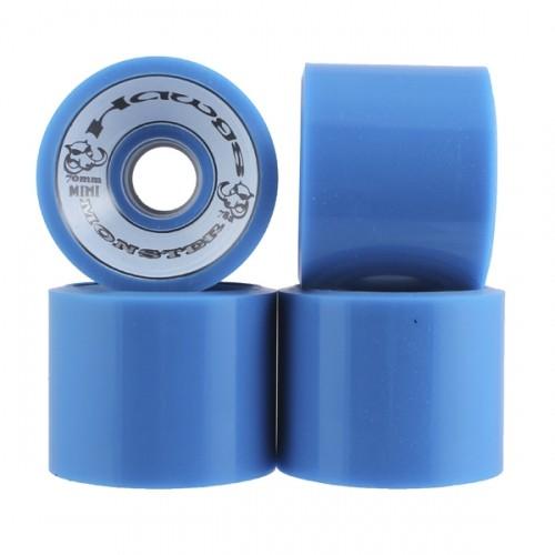 HAWGS HAWGS MINI MONSTER WHEELS BLUE 70MM 78A