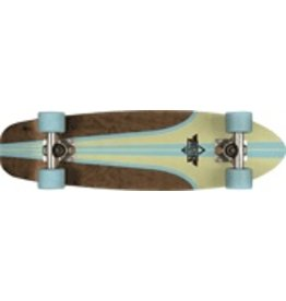 "Dusters DUSTERS GLASSY PINSTRIPE CRUISER COMPLETE-29"" BRN"