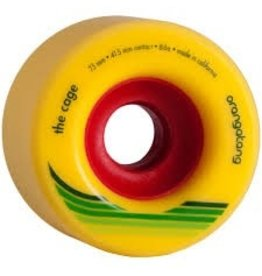 ORANGATANG ORANGATANG 73MM, 86A THE CAGE YELLOW WHEEL (SET OF 4)