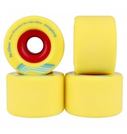 ORANGATANG ORANGATANG 69MM, 86A THE KILMER YELLOW WHEEL (SET OF 4)