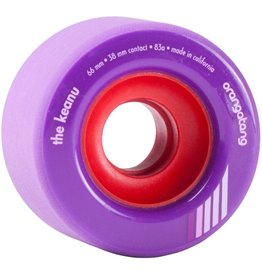 ORANGATANG ORANGATANG 66MM, 83A THE KEANU PURPLE WHEEL (SET OF 4)